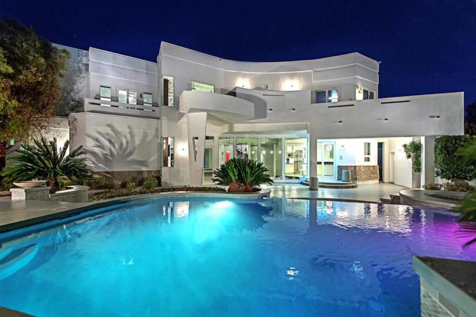 Photo of Mike Tyson's Vegas Home for Sale
