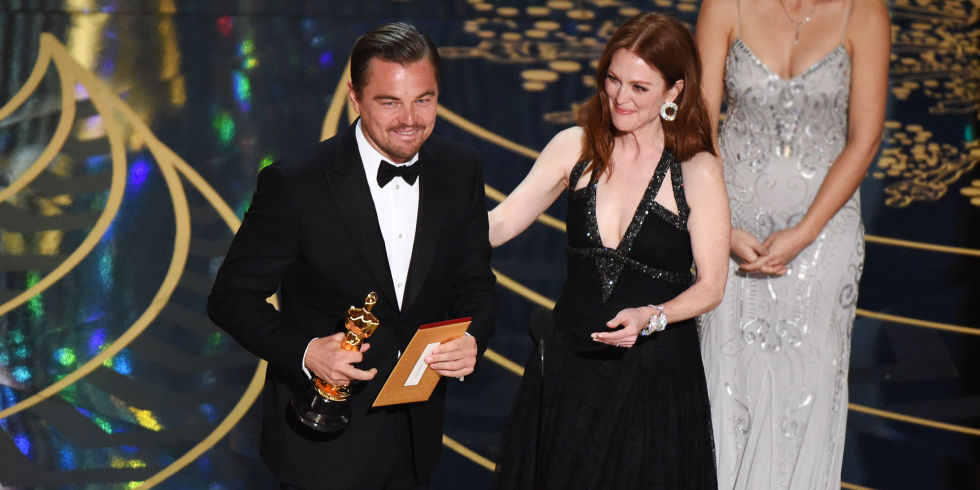 Photo of 2016 Oscars: Chris Rock's, Leo Finally Wins!