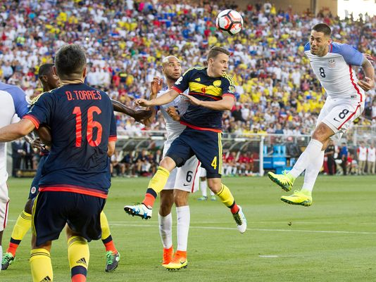 Photo of Colombia Beats USA 2-0 in COPA Opener