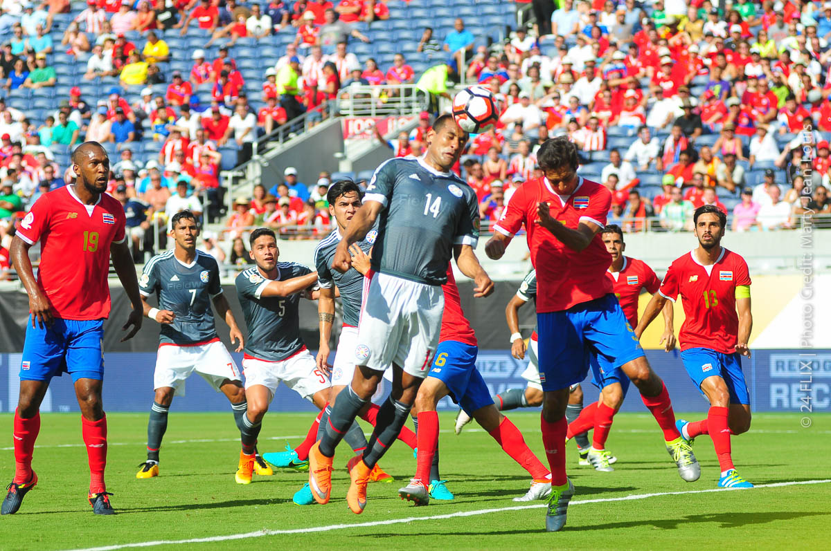 Photo of Copa America Orlando: Costa Rica/  Paraguay Battle To A Draw
