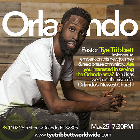 "Photo of TYE TRIBETT'S VISION TO ""LIVE"" IN ORLANDO"