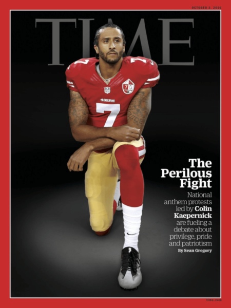 Photo of Colin Kaepernick Makes Cover Of Time