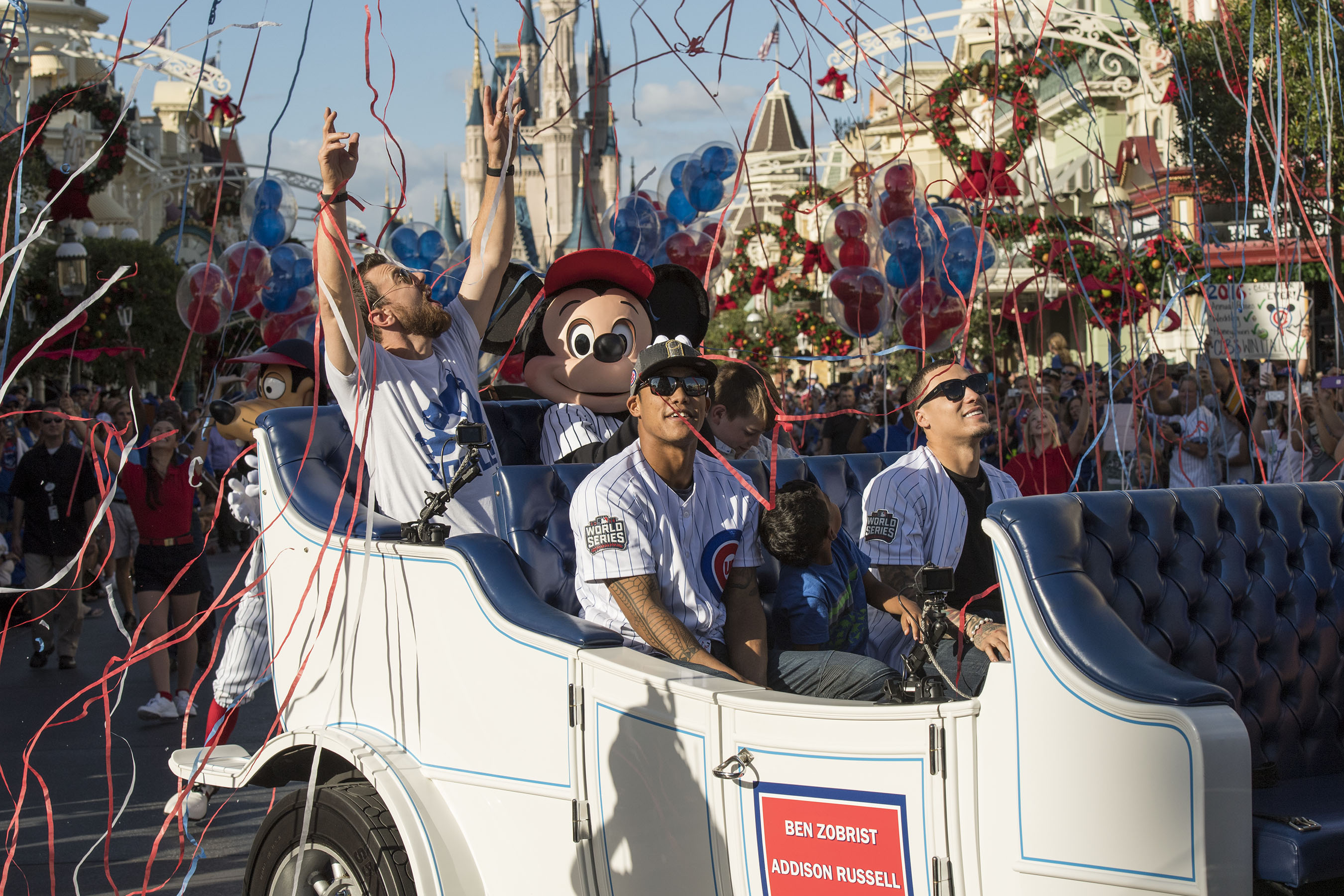 Photo of Chicago Cubs' Magical Visit to Walt Disney World Resort