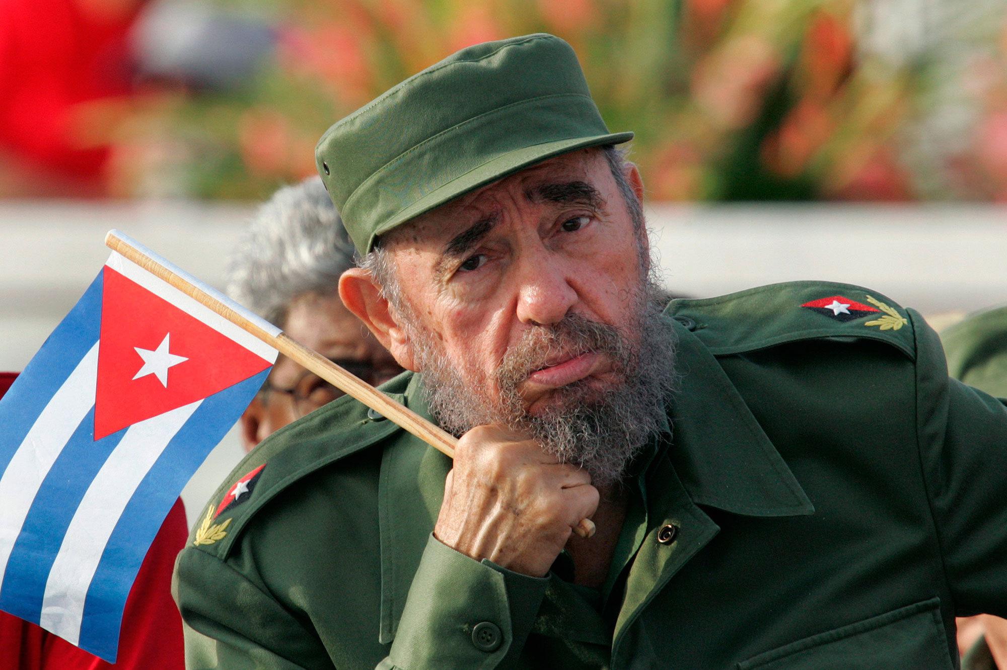 Photo of Fidel Castro has died