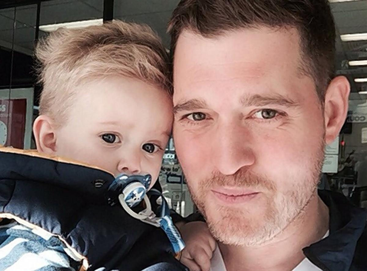 Photo of Michael Bublé's 3-year-old son battles liver cancer