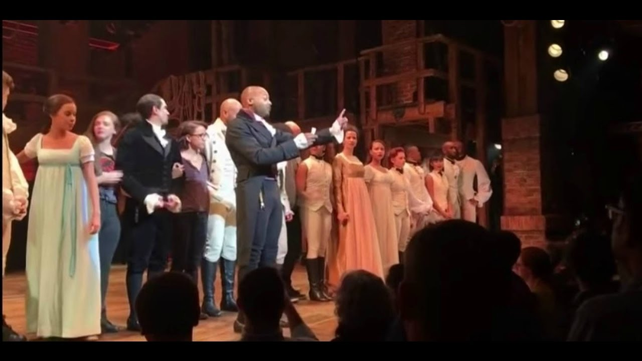 Photo of Hamilton Cast has a special message for VP-Elect Mike Pence