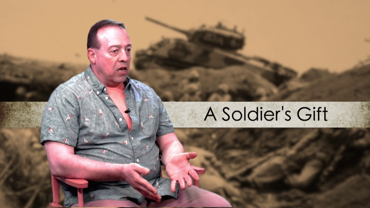 "Photo of Interview with Kent Taylor, Writer of ""A Soldier's Gift"""