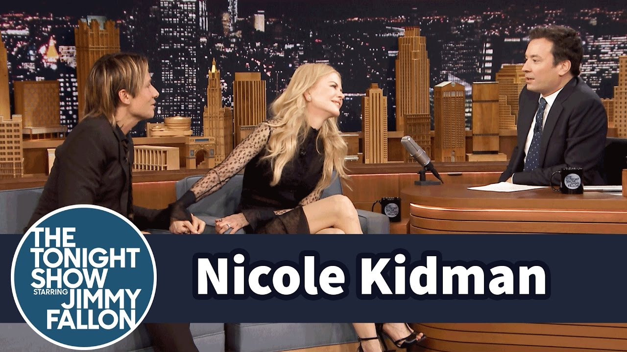 Photo of Jimmy Fallon and Nicole Kidman have another awkward interview