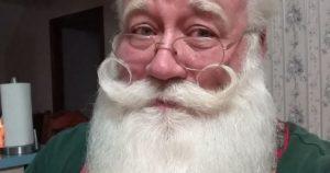 Terminally ill boy dies in Santa's arms.