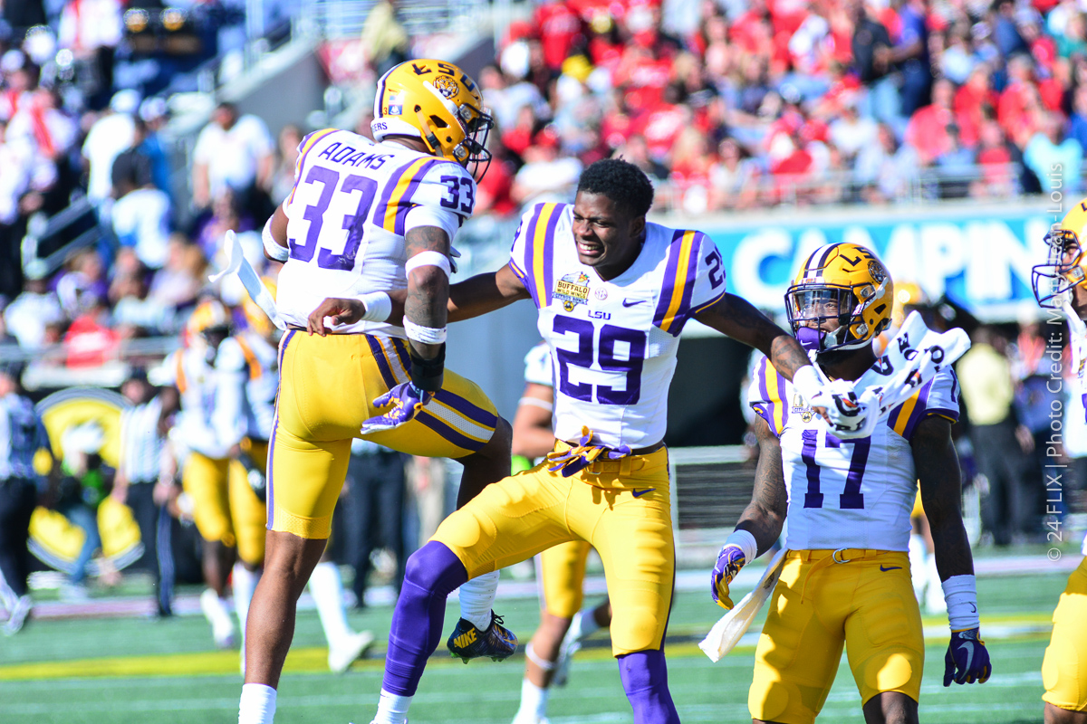 Photo of LSU dominates Buffalo Wild Wings Citrus Bowl, 29-9