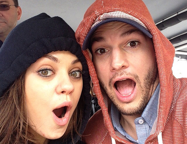 Photo of Mila Kunis welcomes son with Ashton Kutcher