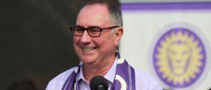 Orlando City founder Phil Rawlins steps down as club president