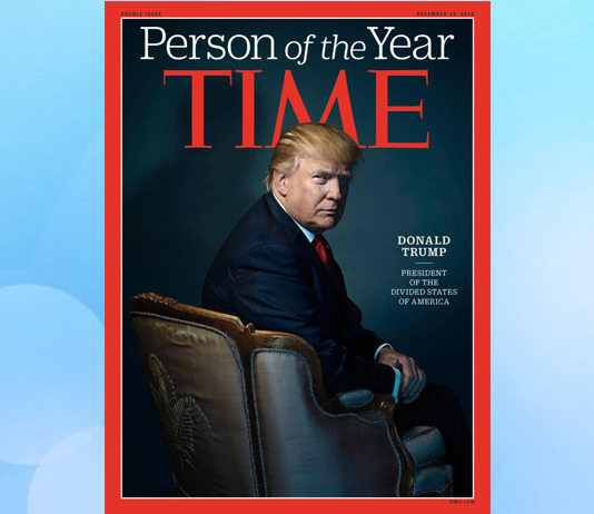"Photo of Time names Trump ""Person of the Year"""