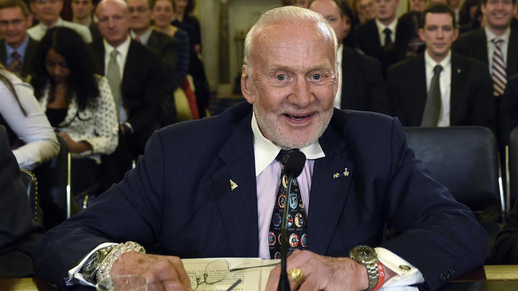 Photo of 'Ailing' Buzz Aldrin, second man on the moon, medically evacuated from the South Pole
