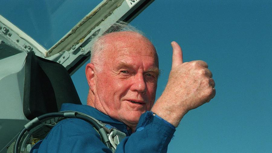 Photo of John Glenn dies at 95; First American to orbit Earth