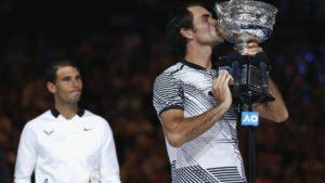 Roger Federer beats Rafael Nadal in Australian Open