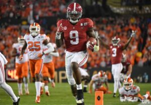 Clemson beats Alabama in final seconds for championship