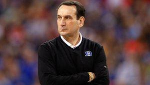 Duke's Coach K takes leave for back surgery