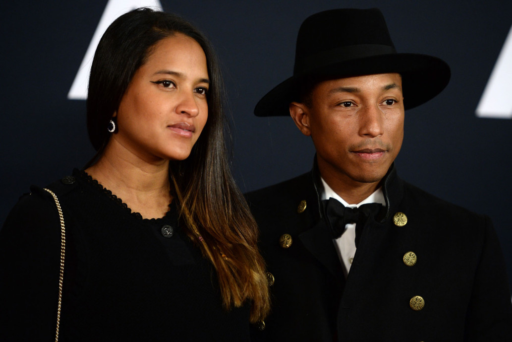 Photo of Pharrell Williams and wife welcome triplets