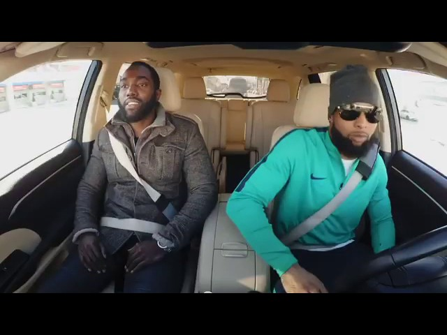 Photo of Giant's Odell Beckham Jr. goes undercover as Lyft driver