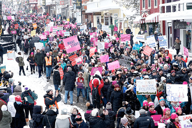 Photo of Celebrities Join Thousands For Women's March at Sundance