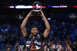 Gordon Flops in Dunk Contest, Anthony Davis Breaks Record in All Star Game