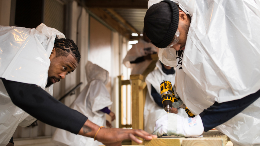 Photo of NBA Stars and Celebrities Pitch In on 10th Annual NBA Cares Day of Service