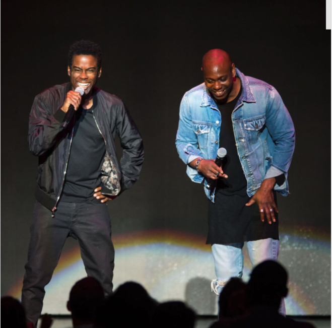 Photo of Chris Rock And Dave Chappelle Did A Surprise Stand-Up Set Together