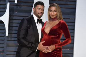 Pregnant Ciara in Car Accident