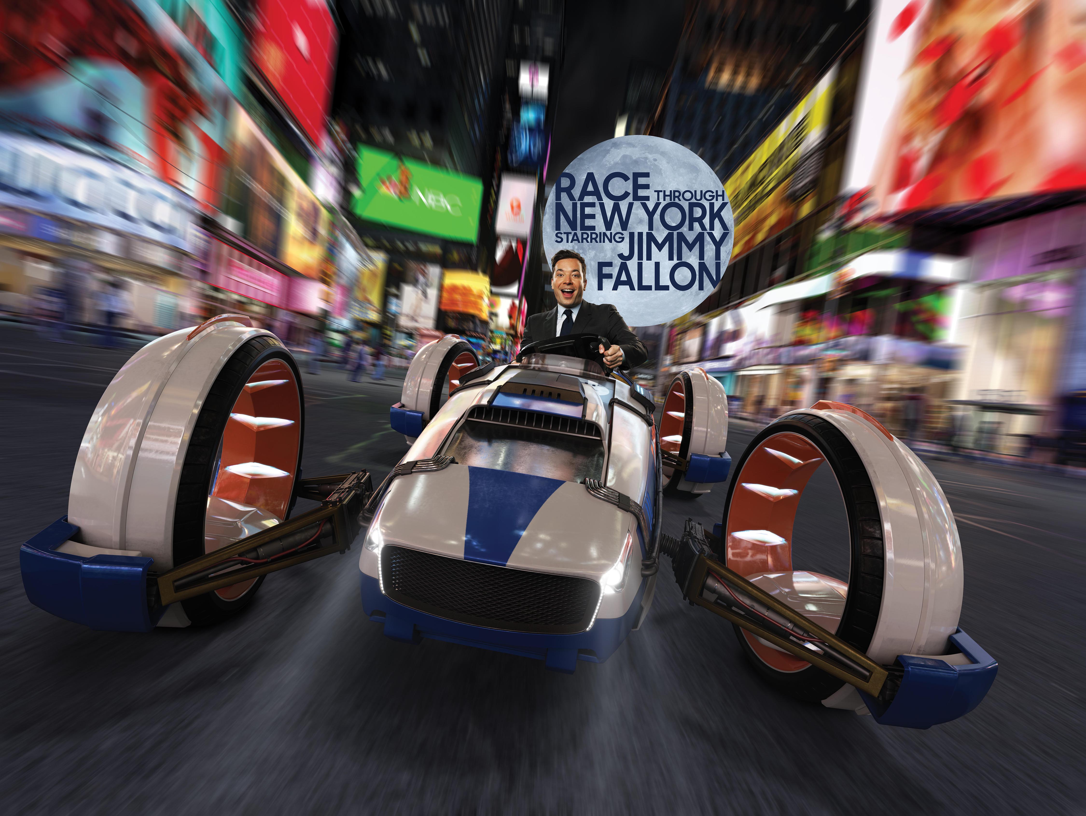 "Photo of ""Race Through New York Starring Jimmy Fallon"" is Now Open at Universal Studios"