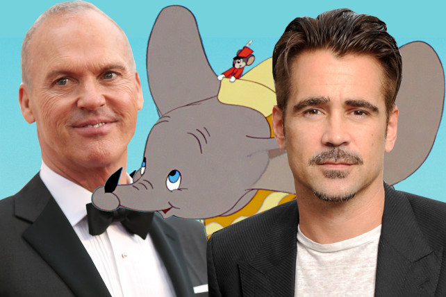 Photo of Michael and Colin Ferrell to Star in Live-Action 'Dumbo'