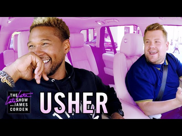 Photo of Usher Carpool Karaoke
