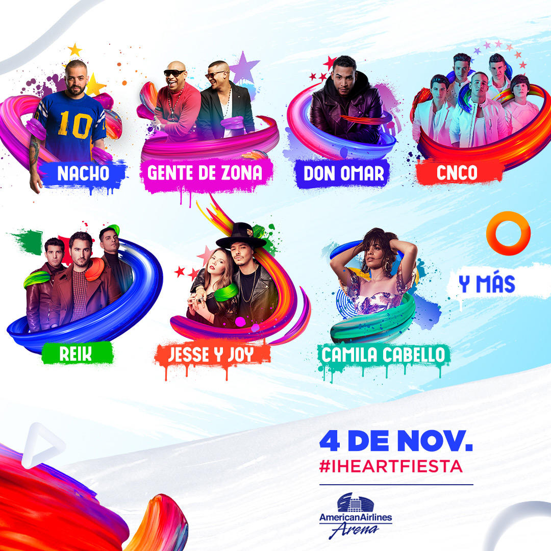 Photo of iHeartMedia Announces Lineup For The 2017 iHeartRadio Fiesta Latina, Celebrating The Best In Latin Music On November 4 In Miami