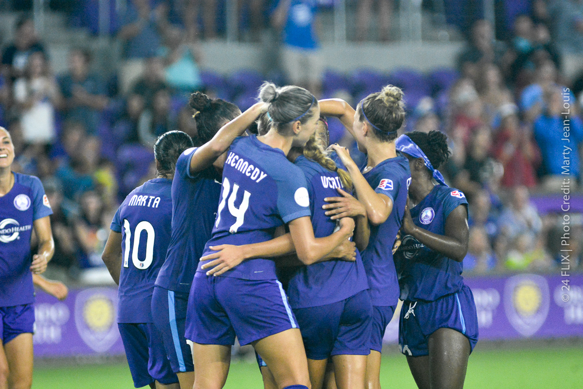 Photo of Orlando Pride Crush Sky Blue FC, March Into Playoff Picture