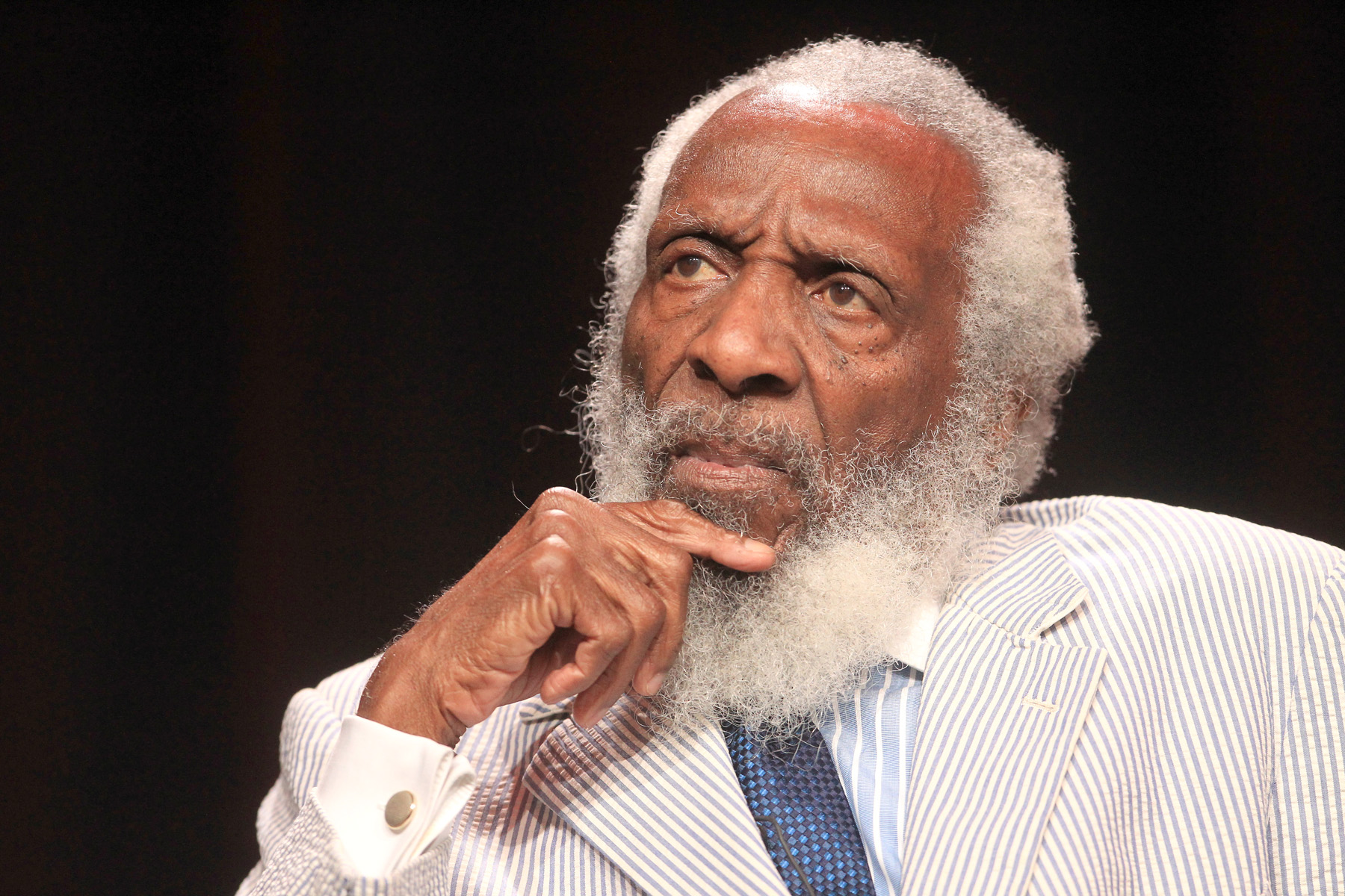 Photo of Comedian, Activist Dick Gregory Dead, 84