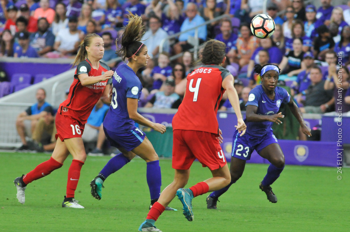 Photo of Orlando Pride Battle to 0-0 Draw Against Portland for Key Standings Point