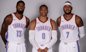 Westbrook Signs Record Extension on Durant's Birthday