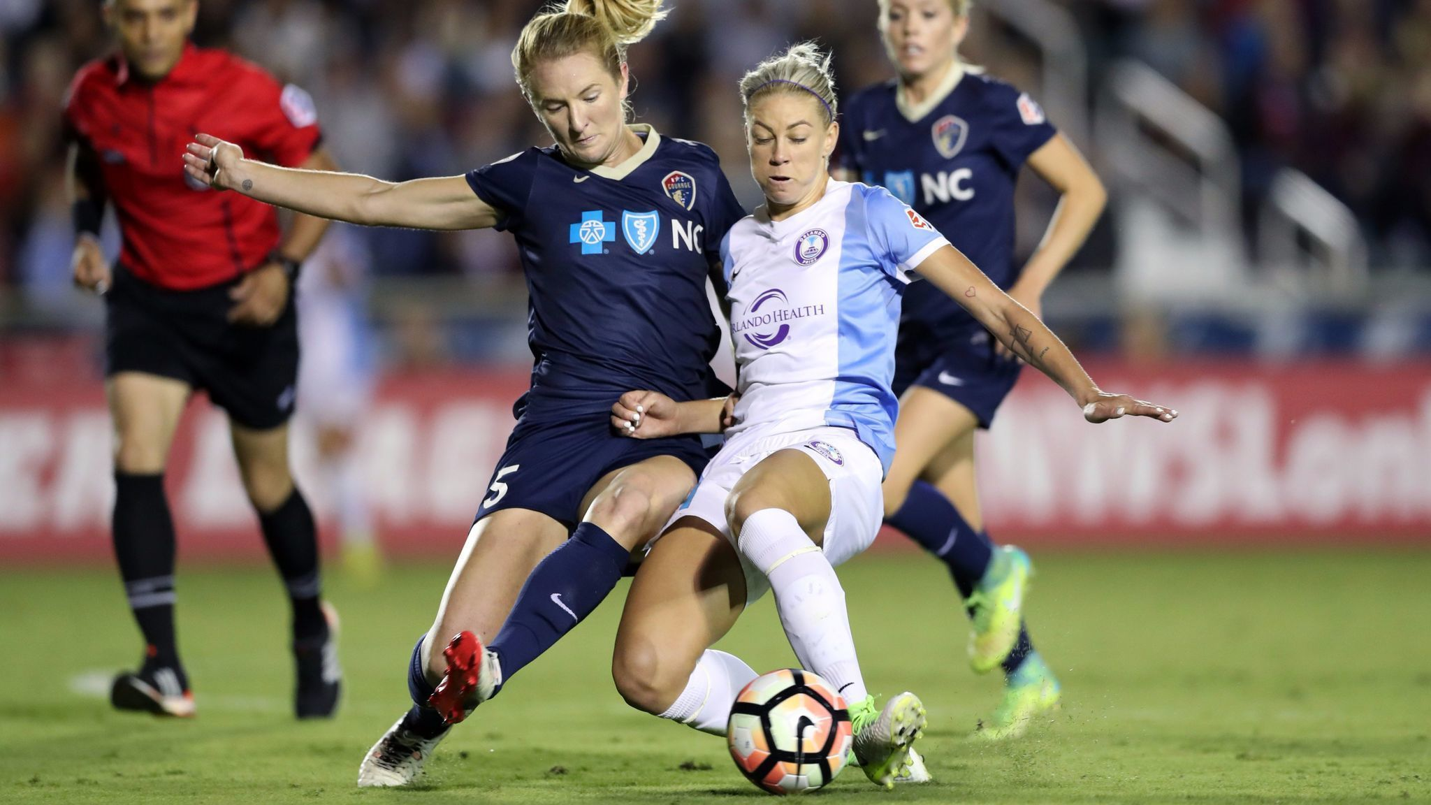 Photo of Orlando Pride Defeat Carolina 3-2, Lock in 3rd Playoff Slot