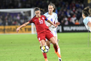 US Women's National Team Defeats England 1-0 to take the SheBelieves Cup