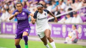 Carolina Blasts 3 Goals in 4 minutes to Take Down Orlando Pride