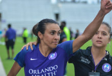 "Photo of Orlando Pride's Marta up for ""The Best FIFA Women's Player Award"""