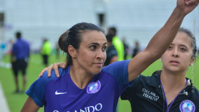 """Photo of Orlando Pride's Marta up for """"The Best FIFA Women's Player Award"""""""