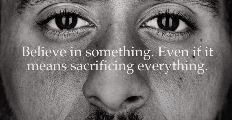 Photo of Nike teams with Colin Kaepernick in Ad Campaign
