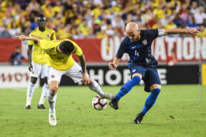 US MNT falls to Colombia 4-2 in front of record crowd
