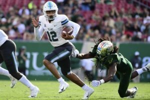 USF trounced by Tulane 41-15 for second straight in conference loss