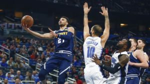 Orlando Magic fall to Denver in overtime 124-118 in overtime
