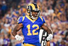 Photo of Rams WR Brandin Cooks arranged for team custodian, son to attend Super Bowl