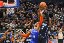 Photo of Paul George and the Thunder roll over Magic 126-117