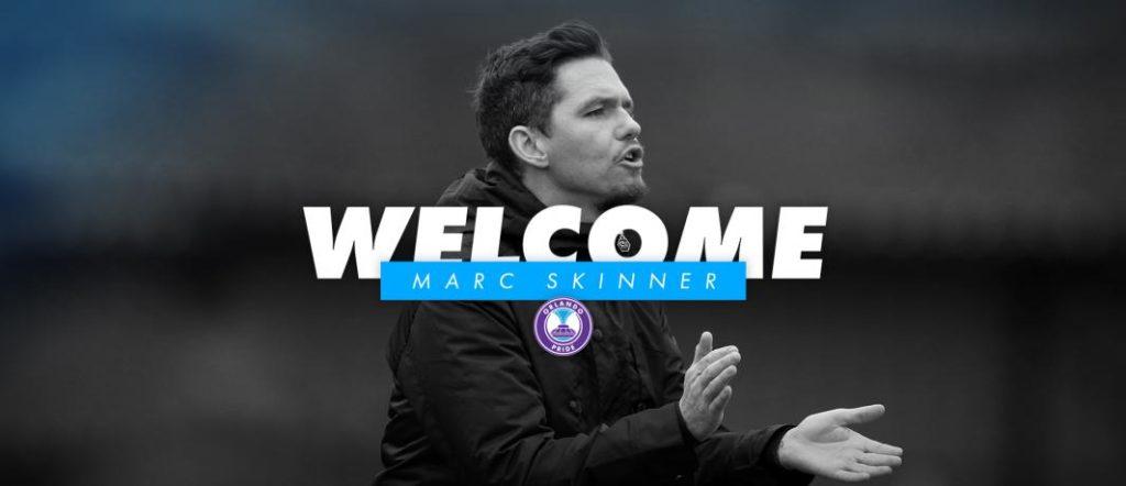 Orlando Pride Appoints Marc Skinner as Head Coach Ahead of 2019 NWSL Season
