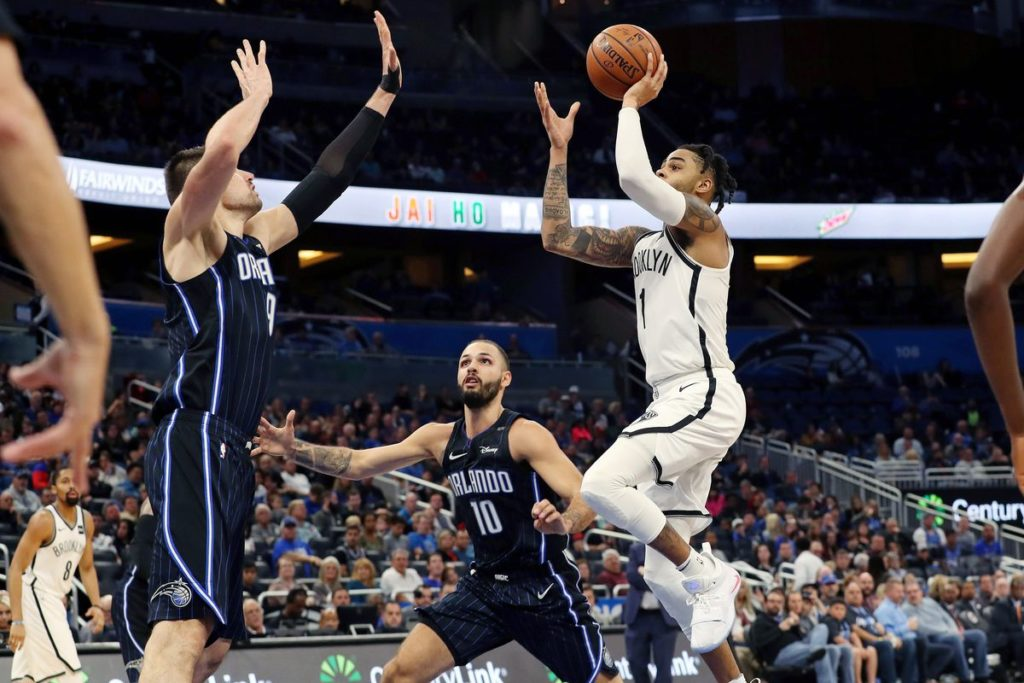 Magic lose to Nets 117-115 and lose Aaron Gordon